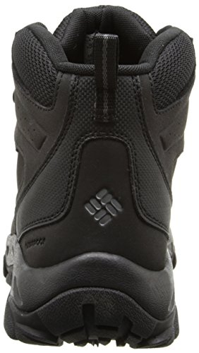 Columbia Newton Ridge Plus Ii Waterproof - Zapatos de Low Rise Senderismo Hombre Multicolor - Multicolor (Black/Black)