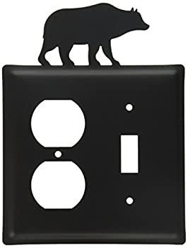 8 Inch Bear Single Outlet & Switch Cover 0