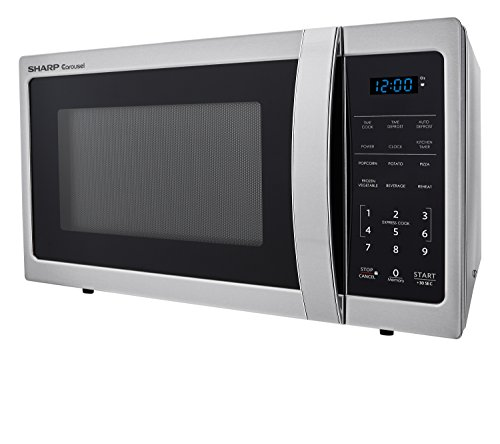 Sharp-Microwaves-ZSMC0912BS-Sharp-900W-Countertop-Microwave-Oven-09-Cubic-Foot-Stainless-Steel