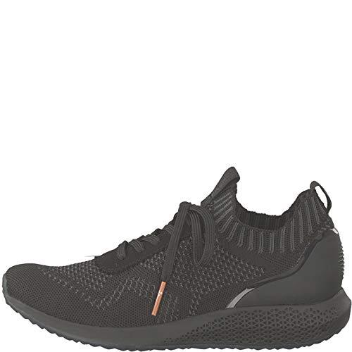 Mujer Black zapato Tamaris Calzado 1 Cordones Uni Con Deportivo 1 22 23714 UwxgIvq