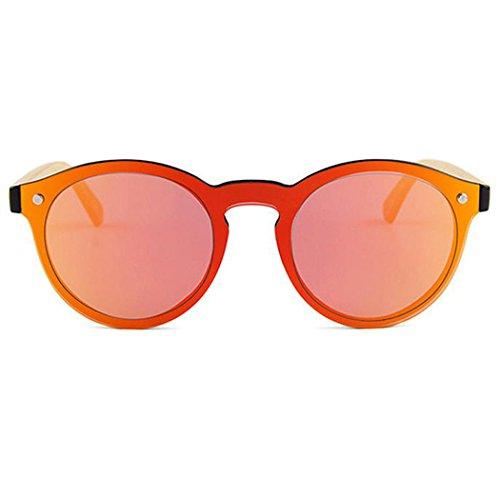 Soleil de Lunettes Femmes Protection Hommes de Red Soleil de Lunettes Lunettes pour de UV Fansport Conduite Soleil Eyewear 5Eqggp