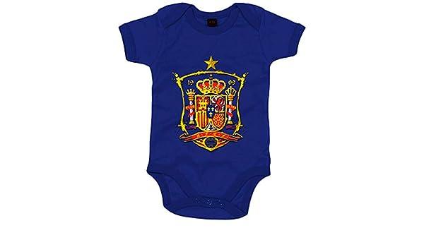 Body bebé ilustración tributo Selección Española La Roja ...