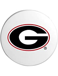Purchase (Set/2) Ceramic College Sports Cup Holder Travel Coasters - Georgia occupation