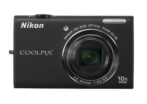 Nikon COOLPIX S6200 16 MP Digital Camera with 10x Optical Zo