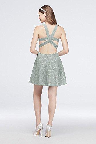 David Corsage Surplis Tricot Paillettes De Mariée Ajustement Et Flare Sage D73041j686 Style Robe De Bal