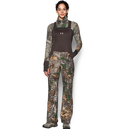 Under Armour Women's Stealth Bib,Realtree Ap-Xtra (947)/Metallic Beige, Medium (Bib Under Armour)