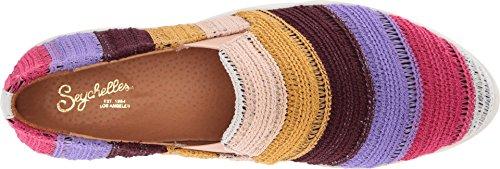 Seychelles Womens Varsity Letter Rose Multi Crochet Rayure