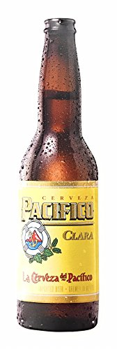 Pacifico Clara La Cerveza Del Pacifico - Beer Bottle, used for sale  Delivered anywhere in USA