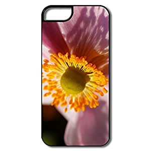 IPhone 5/5S Protector, Flower White/black Covers For IPhone 5/5S
