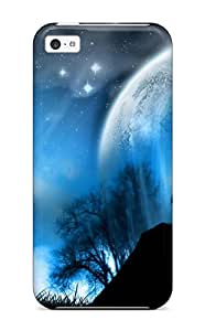New Cute Funny Fantasy Albums Gallery Pixel Large Case Cover/ Iphone 5c Case Cover
