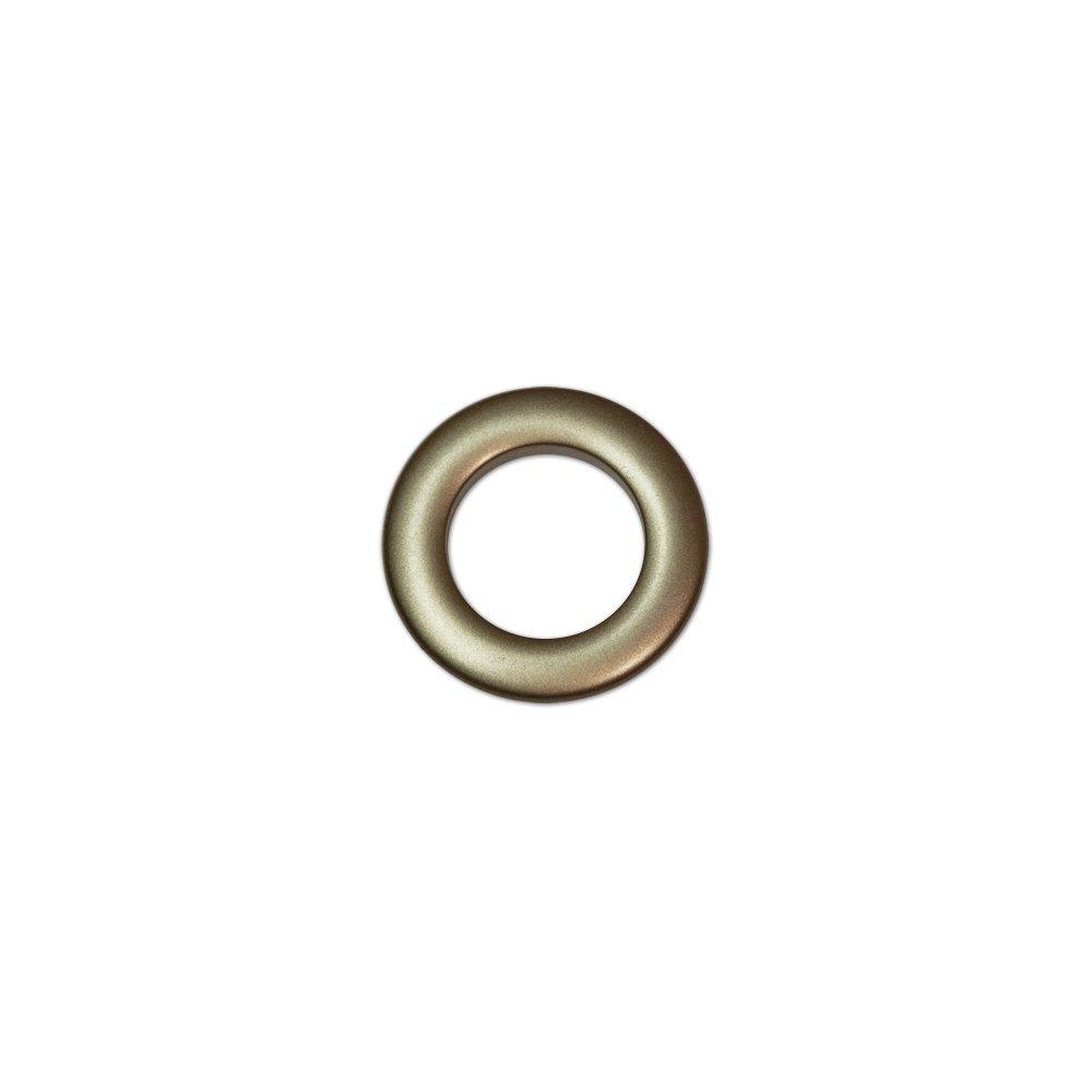 Oeillets à Clipser pour Rideaux Coloris Bronze - diamètre 28 mm - Lot de 8 Faire des Rideaux