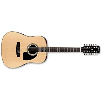 ibanez performance series pf1512 dreadnought 12 string acoustic guitar natural. Black Bedroom Furniture Sets. Home Design Ideas