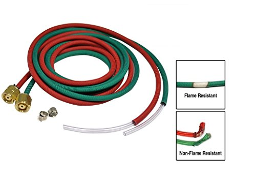 Primo Fire Resistant Twin Hose for Little Torch 6 FT x 1/8""