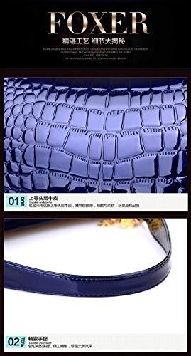 Crossody Donne colore Per Tracolla Travle Ovvo Della Da Dimensione Delle Borsa A Pink 30x11x17cm Bag Donna Blu Outdoor wXOOvq84