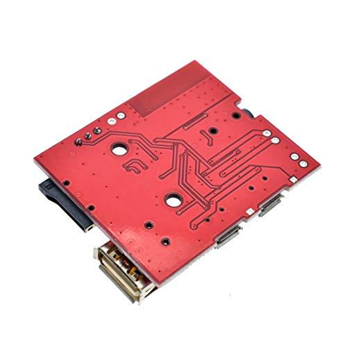 HiLetgo 3W Car Bluetooth 4.1 MP3 WAV Decoding Board Speaker Amplifier Audio Receiver Module Support USB/TF/U-Disk/IR with Remote Control