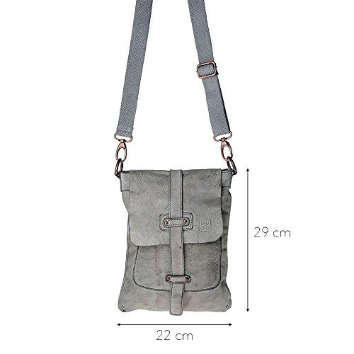 Dudu - Sac porté épaule - TImeless - Bag - Gris cendre - Homme