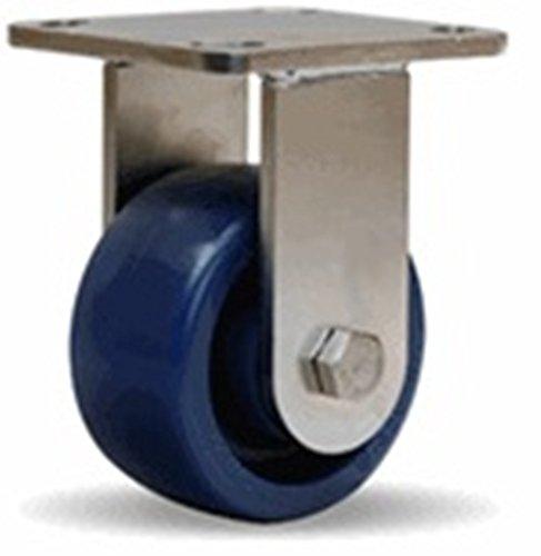 4'' Hamilton Polyurethane Rigid Caster, 750 lb. Capacity
