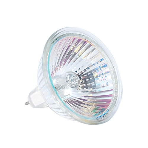 (MR16 12V 20W Gu5.3 Halogen Flood Light Bulb Clear Glass Lens BAB (4/pack) )
