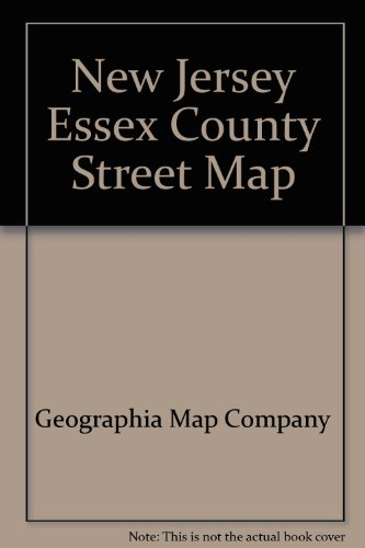 New Jersey, Essex County, street map