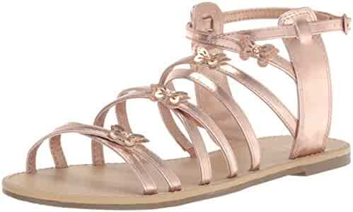 The Children's Place Kids' BG Btfly Candy Flat Sandal