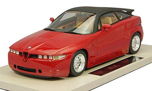1/18 アルファロメオ SZ 1989(レッド) TOP01R