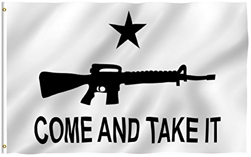 "3'x5' ""Come and Take It"" M-4 Assault Rifle American FLAG, ca"
