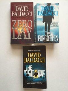 John Puller Series (Set of 3) Zero Day; The Forgotten; The Escape (Escape Puller The)