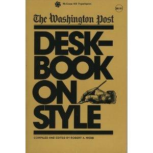 Washington Post Deskbook on Style