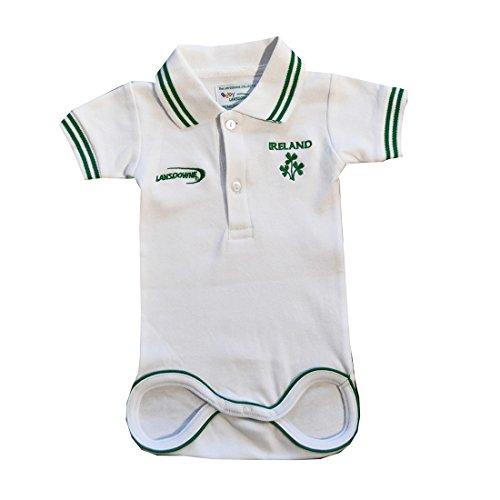Kids White Ireland Rugby Vest White 6-12 Months