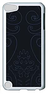 iPod Touch 5 Case and Cover -Dark vector art PC case Cover for iPod Touch 5¨C White