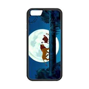 Classic Style Custom Silicone Hard Rubber Protector Case for iPhone6(4.7inch) - The Lion King