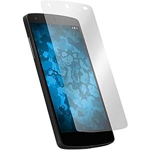 8 x Google Nexus 5 protector de pantalla claro Películas Protectoras