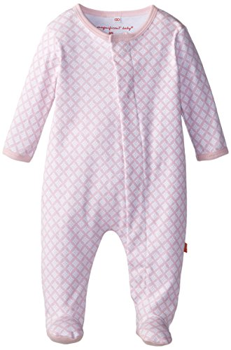 - Magnificent Baby Baby-Girls Footie,Pink Diamonds,0-3 Months