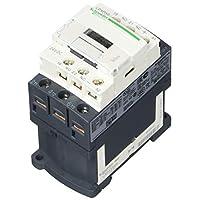 3 polos, 24 bobinas VDC, 12 amperios a 440 VCA y 25 amperios a 440 VCA, contactor IEC no reversible