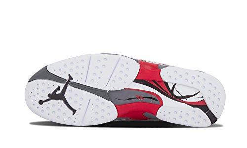 Jordan Air 8 Retro Mens Basketball Shoes White/Black/True Red x9YDq