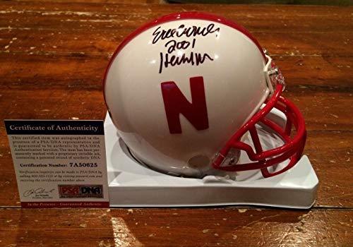 Eric Crouch Autographed Signed Memorabilia Nebraska Cornhuskers Mini Helmet Heisman 2001 Itp - PSA/DNA Authentic