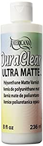 DecoArt Americana DuraClear Varnishes, 8-Ounce, Ultra Matte