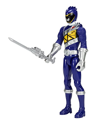 "Power Rangers Dino Super Charge - 12"" Blue Ranger Action Figure"