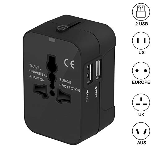 Travel Adapter - Worldwide All in One Universal Power for sale  Delivered anywhere in USA