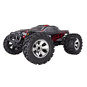 Redcat Racing Earthquake 3.5 Monster Truck Nitro 2-Speed with 2.4GHz Radio (1/8 Scale), Red/Black