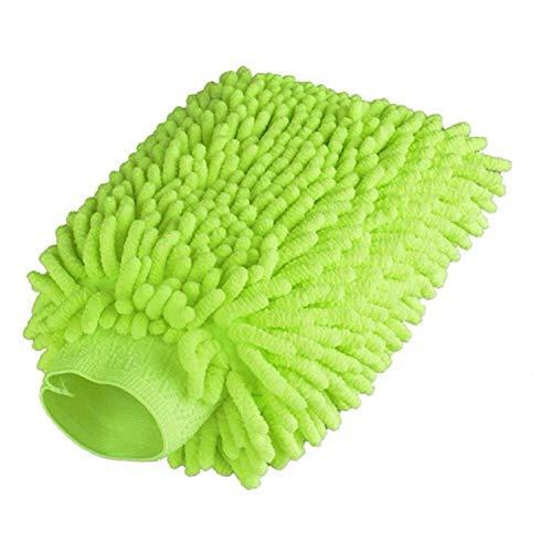 - Car Wash Mitt Made of Chenille Microfiber Premium Scratch-Free Car Wash Glove