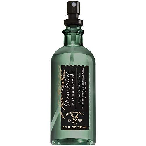 Bath & Body Works Aromatherapy Stress Relief - Eucalyptus Tea Pillow Mist, 5.3 Fl Oz , with Natural Essential Oils from Bath & Body Works