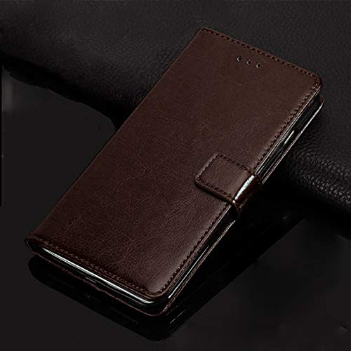 caretell Flip Cover for samsung galaxy j5 prime  coffee brown