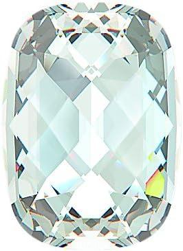 gogoritas Piedras Preciosas Swarovski Elements Classic Baguette 18.0 x 13.0mm (Crystal), Partida RESTANTE, 1 Piezas