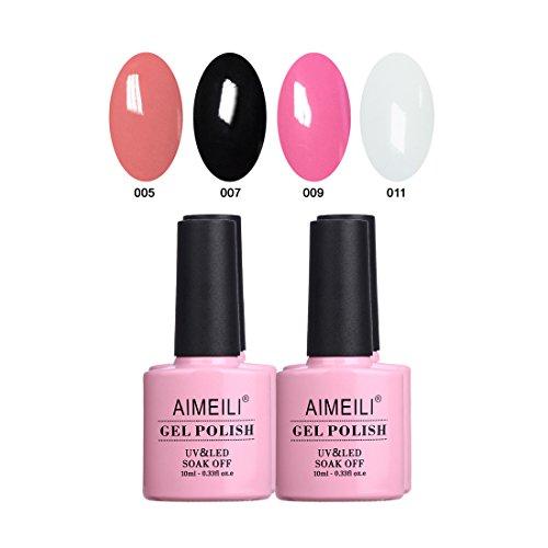 AIMEILI Soak Off UV LED Gel Nail Polish Multicolor/Mix Color
