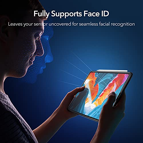 ESR (2-Pack) Paper-Feel Screen Protector for iPad Pro 12.9 ...