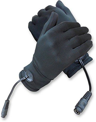 Gears 100318-1-M/L Gen X-4 Heated Glove Liner, Distinct Name: Black, Gender: Mens/Unisex, Primary Color: Black, Size: Md-Lg ()