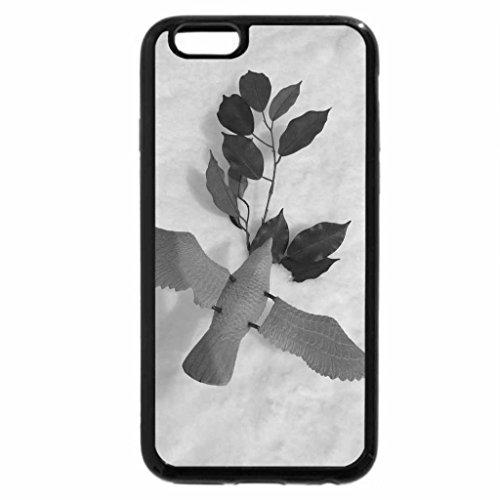 iPhone 6S Plus Case, iPhone 6 Plus Case (Black & White) - Winter Peace