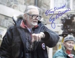 George Romero Autographed Signed Land Of Dead 11x14 Photo PSA/DNA - Certified Authentic