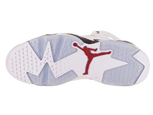 91 Chaussure De Basket Gymnase Blanc Rouge Nuit Noire Jordan Nike Hommes